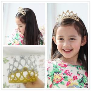 Prenses Saç Bandı Tiara Çocuk Kız Çocuk Rhinestone Kristal Kafa Taç