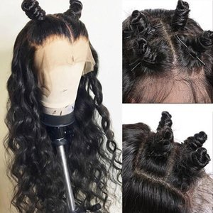 Brazilian Loose Wave Lace Front Wigs With Baby Hair 100% Brazilian Virgin Human Hair Lace Front Wigs For Black Women Natural Hairline Wig