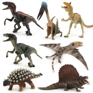 Animal Model Jurassic World Dinosaur Model Toy Imitation Dinosaurs Hart Hereby Brother Pterosaur Swift And Violent Dragon