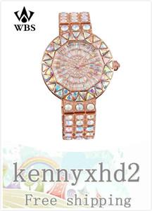 Русалка Чжан Юйци тот же алмаз инкрустированный водяной дрель мода кварц полный Алмаз водонепроницаемый модные часы