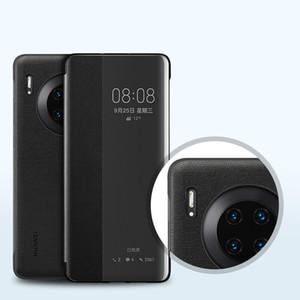 Huawei originale Mate 30 Pro Custodia in silicone astuto della copertura del cuoio di vibrazione 360 antiurto Mate30 Pro caso