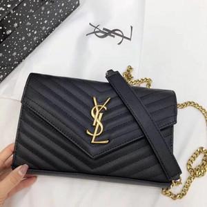 ySLClassic rhombus chain leather shoulder bags designer luxury clutch women handbag quality luxury Designer brand handbags 546387