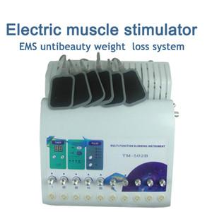 수십 1 수십 EMS 전기 러시아어 파 faradic 근육 자극기 패드 벨트에서 뜨거운 판매 2 플러스 가열 TM-502B 무료 배송