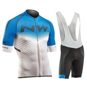 Northwave Summer Cycling Jersey Set transpirable Nw 2019 Bicicleta Ciclismo de montaña Ropa de desgaste Ropa deportiva Uniforme deportivo Y041005