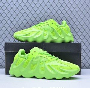 Kanye West 451 Volcanic Charlescharlyc 700 Shoes Splice Azul Verde preto com homens Box Mulheres com caixa