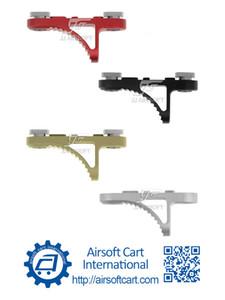ACI B5 aperto de mão do batente Parar handstop MLOK / MLOK, Short K Model (preto / vermelho / Tan / Silver) Lightweight