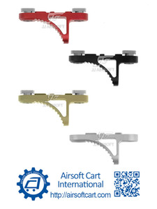 ACI B5 قبضة اليد وقف وقف handstop MLOK / MLOK، شورت K نموذج (أسود / أحمر / تان / فضية) وخفيفة الوزن