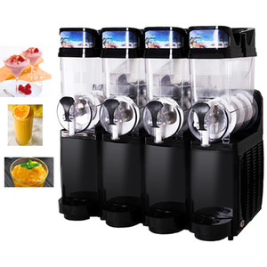 Nouveau type Restaurant Quatre réservoirs de fonte de neige machine Smoothie Slush machine commerciale Slush boisson Faire prix de la machine 830W