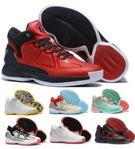D Gül 10 10s Basketbol Ayakkabı Sneakers Derrick Rose X 10 MVP Çıkma Siyah Yüksek Man Erkekler 2020 Yeni Geliş Otantik Çizme Ayakkabı