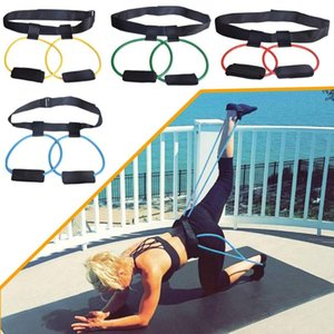 Fitness Booty Bands Set Resistance Bands for BuLegs Muscle Training Adjust Waist Belt Elastic Pedal Exerciser Workout