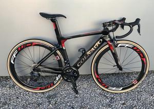r7010 Groupset 50mm FFWD tekerlek ile 15 renk Kırmızı Colnago Konsept Karbon Komple Yol Bisikleti Gümrükleme DIY Bisiklet