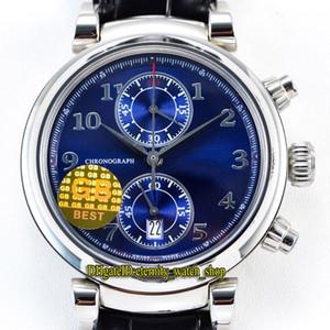 GB versione migliore Laureus Sport for Good Foundation IW393402 Cal.89361 automatico 28800 Vph Quadrante Blu orologi Mens Watch Sapphire Designer