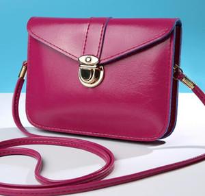 toptan Kadınlar haberci çanta Vintage tarzı PU deri çanta tatlı sevimli Çapraz vücut çanta haberci çanta Clutch