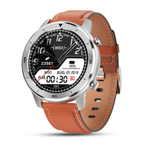 NEW Full Round Touch Display Smart Watch Men IP68 Waterproof Heart Rate Blood Pressure Monitor 5 Days Standby Smartwatch