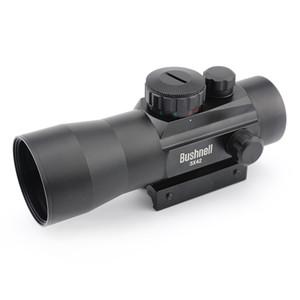 3 * 42RD 11/20 mm rail Mounts tactique Riflescope vert / Red Dot Sight Scopes Riflescope objectif fusil de chasse portée de vue optique pour Air Riflex
