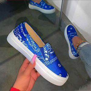 KHTAA resbalón de las mujeres Mocasín superficial casuales zapatos de los planos de la plataforma de costura señoras de la manera Mujer Calzado Mujer 2020 Comfort Shoe