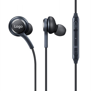 New S8 Headset Titanium Grey high quality In-Ear Headphones Microphone Earphones Handsfree For Samsung Galaxy S8 & S8 Plus OEM Earbuds DHL