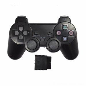 Eastvita Transparent Color Game-Controller Joysticks Spiel Zubehör Controller für Sony PS2 drahtlose Bluetooth gamepad 24G Vibration Co