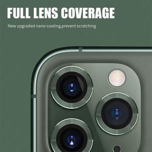 Для iphone 11 Camera Lens Protector стекла для Iphone 11 Pro Max КОРПУСА камеры заднего кольца задняя крышка защиты