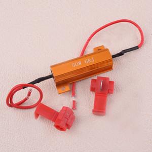 50W 6ohm Car LED HID DRL Nevoeiro Vire resistor de carga Singal Para Fix Lâmpada LED funciona como aviso Canceller