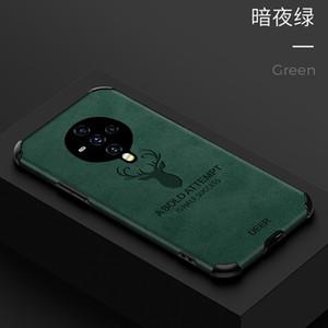 Mobile Phone Case for vivo S6 z6 x30pro IQoo3 IQoo neo TPU+Leather Elk Creative Protective Cover
