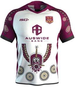2017 Liga Nacional de Rugby Queensland QLD 2018 cimarrones Malou Jersey de rugby 2019 QLD MAROONS ESTADO DE ORIGEN Jersey de rugby