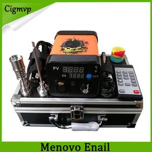 Новые Menovo Electric Titainium Гвозди Pen Rig масло воск прикладывая PID TC Box С Domeless Coil Heaer Dnail Kit Силиконовый коврик