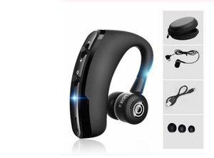 V9 V8 V8 mãos livres sem fios Bluetooth Fones de ouvido Noise Business Control sem fio Bluetooth Headset com microfone para Esporte driver