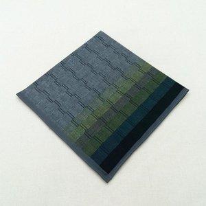 43 * Bufanda Gradient Wall Handkerchief Pathkerchief Men's 43cm Lattice Cotton Brick Square Dark Jhxbk