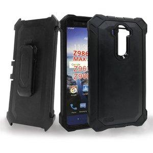 Per One Plus 6t Case Cover Defender antiurto di protezione fondina clip da cintura Kickstand cristallo robusta Indietro Phone