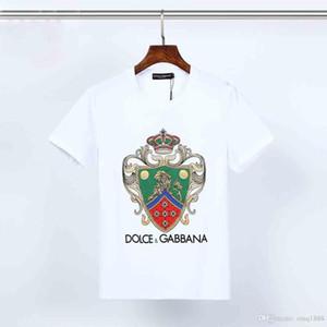 2020 nagelneu mit Label-T-Shirts Männer Fashion lustige Sonne Print Baumwolle Männer und Frauen beider abnutzen schwarz WHITE Farbe Marke clothings