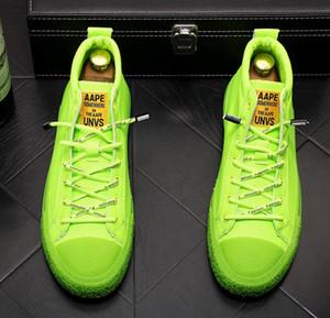 MODA erkek Tasarımcı Rahat Ayakkabılar Büyüleyici şeker renk Ayakkabı punk Loafer'lar Platformu Rahat Flats Ayakkabı Erkek Homecoming Elbise Balo ayakkabı gb81