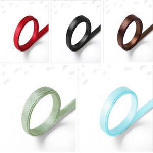 Décoration de Noël Ruban Bracelet cadeau Wrap pour soirée de mariage Double Side Box Emballage cadeau ruban de satin ceinture 5 couleurs XD21845