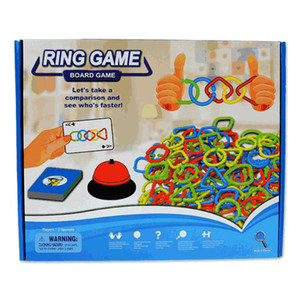 Ring Game Speed Colors Shapes Match Game board game for Kids Adults Party Family Puzzle Toys