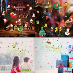 Faroot Mutlu Anlar Merry Christmas Mektupları duvar sticker Salon Duvar Etiketler Çıkartması pencere parti ev Parti Dekorasyon