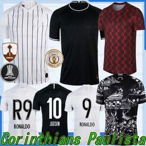 O homem tailandês 19/20 Corinthian Paulista nova Soccer Jersey CLAYTON JADSON ROMERO PABLO M.GABRIEL Football Jerseys Adulto shirt