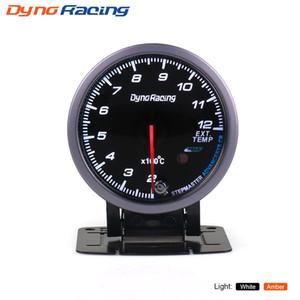 Dynoracing 60MM Exhaust Gas temp gauge White Amber light with peak function 200-1200C EGT Gauge Car meter BX101485