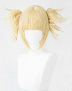 Envío gratisMy Boku no Hero Academia Academia Himiko Toga Light Blonde Ponytail Cosplay peluca