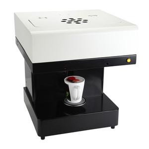 جديد 3d نمط زهرة lnk الطابعة الفن المشروبات القهوة الغذاء طابعة القهوة سحب زهرة selfie القهوة