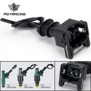 ENJEKTÖR DİNAMİK EV1 Pigtail Klip Bağlayıcı Yakıt Enjektör Konnektörler birçok otomobil EV1 Enjektör Tak PQY-FIC14 için