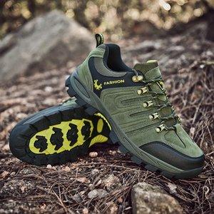 Montagne Chaussures de marche Hommes Grande taille 46 Suivi extérieur Chaussures Automne Hiver Outdoor Chaussures de randonnée Climbing Hill SneakersPT