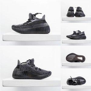 Hot Kanye West Schwarz Static Schuhe Großhandel Umsatz mit Box New Kanye West Laufschuhe Kid Designer-Schuhe Freies Verschiffen Us5-US13 # 140