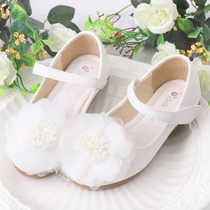 Girls' Leather Shoes 2020 Spring And Autumn New Style Children Princess Shoe Soft-Sole Little Girl Super Fine Reinforced Leather