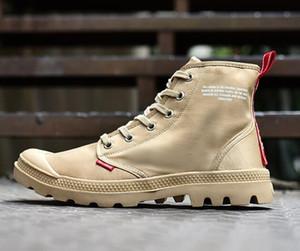 Sıcak Satış-e Men Yüksek üst Ordusu Askeri yarım bot Branda Sneakers Günlük Ayakkabılar Man Kaymaz spor Shoesl