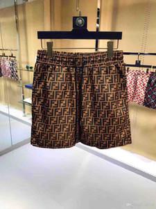 2019 nouvelle plage de conception chaude Marque de mode plage short séchage rapide de gros shorts pour hommes d'été de la mode maillot de bain costume populaire hommes pantalon S6