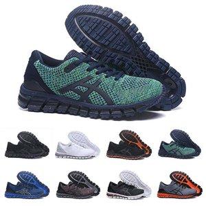 Gel-Quantum 360 SHIFT Estabilidad Runner zapatillas de Utilidad Negro Triple blanca Racer para hombre atlético azul Entrenadores Moda Deportes ASIC las zapatillas de deporte