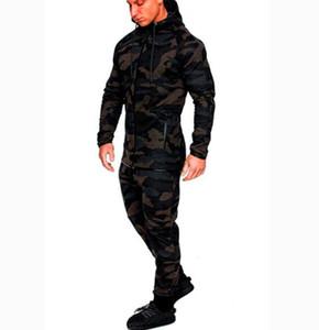 Desinger العلامة التجارية الرجال ملابس رياضية سروال جاكيتات رياضية رجالية هوديي التمويه رياضية في الهواء الطلق مجموعة رياضية عرق البدلة