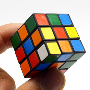 WJ1004 Magic Cubes 3x3x3cm New children's puzzle third rubik's cube intelligence smooth toys forfor for kids