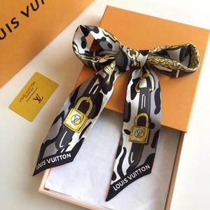Designer Foulard en soie Mode Bandeau Marques de Luxe Femmes Soie Haut Grade Pattern, Print Foulard en soie Bandeaux