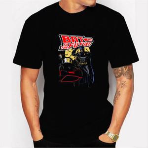 Retour vers le futur T-shirt lumineux T-shirt à manches courtes T-shirt d'été T-shirts dos à l'avenir T Hauts Streetwear T-shirts 4XL